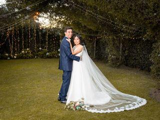 El matrimonio de David y Paola