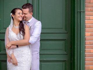 El matrimonio de Silvia y José