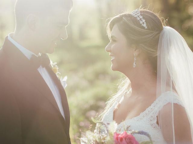 El matrimonio de María Alejandra y Juan
