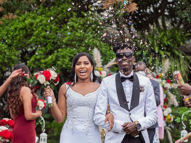 El matrimonio de Angie y Junior en Cali, Valle del Cauca 64