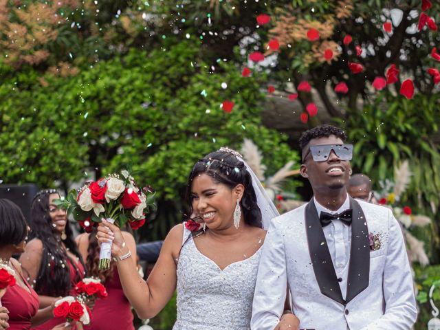El matrimonio de Angie y Junior en Cali, Valle del Cauca 66