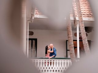 El matrimonio de Eve y Andrea 1