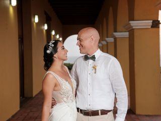 El matrimonio de Eve y Andrea