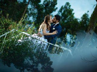 El matrimonio de Johanna y Manuel