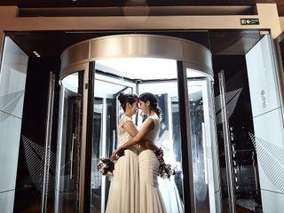 El matrimonio de Laura  y Lina  1