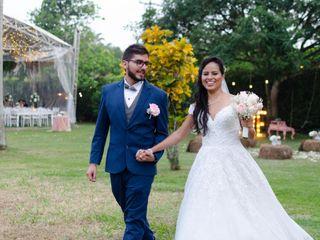 El matrimonio de Claudia y Cristian
