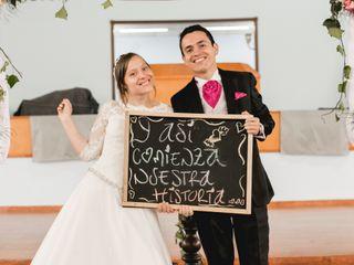 El matrimonio de Vanessa y Jonathan