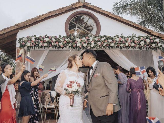 El matrimonio de Leidy y Erving