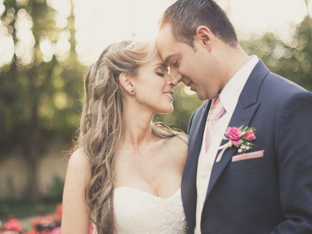El matrimonio de Angélica y Mario