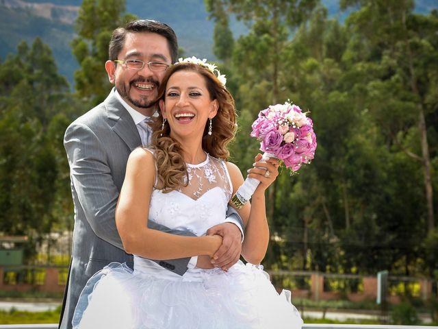 El matrimonio de Angela y Leandro