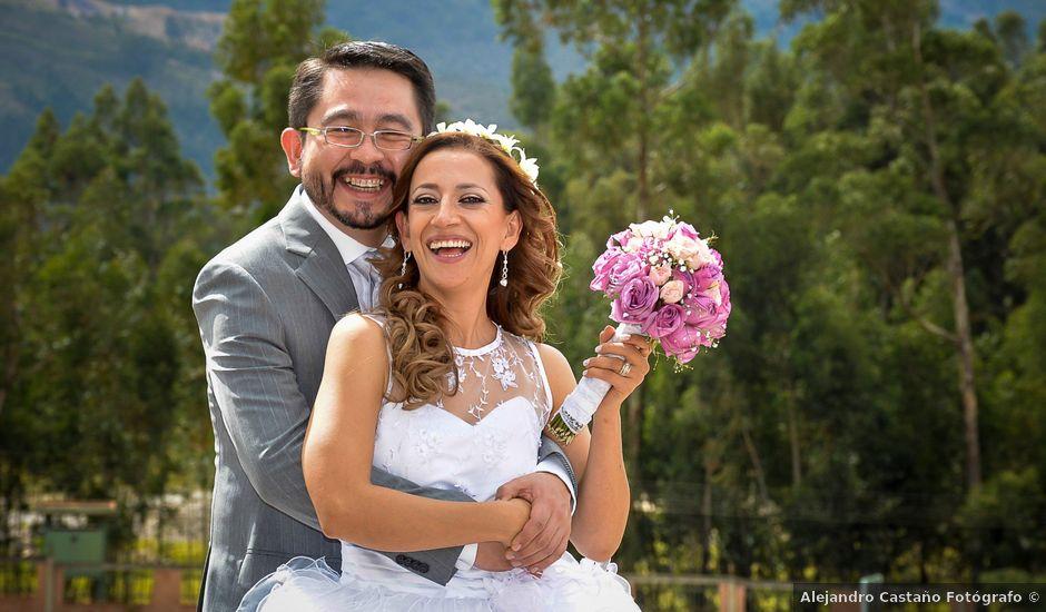 El matrimonio de Leandro y Angela en Sogamoso, Boyacá
