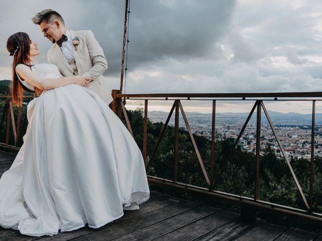 El matrimonio de Diego y Nata