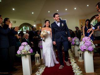 El matrimonio de Bibiana y Iván