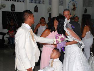 El matrimonio de Karen y  Jeison 1
