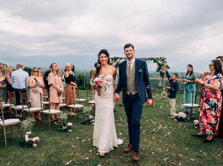 El matrimonio de Alexander y Laura