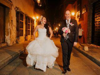 El matrimonio de Kelly y Fran