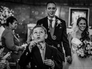 El matrimonio de Astrid y Thomas