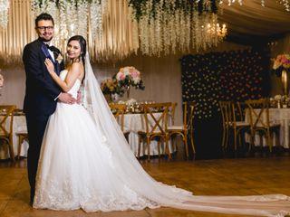 El matrimonio de Andrea y Juan