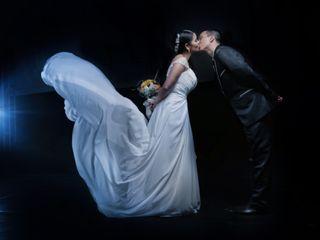 El matrimonio de Lorena y Maurico