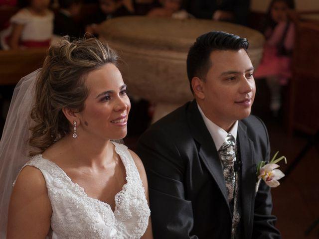 El matrimonio de Viviana y Oscar