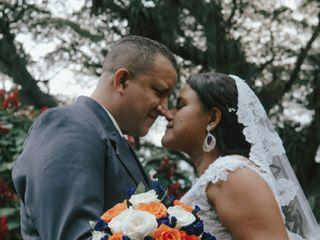 El matrimonio de Astrid y Mauricio