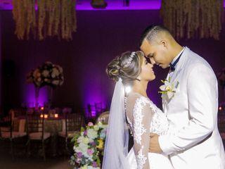 El matrimonio de Luis Fernando y Yolfanys