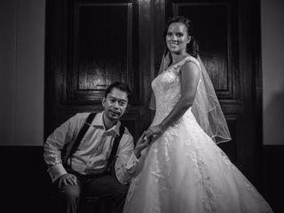 El matrimonio de María Paula y Bien