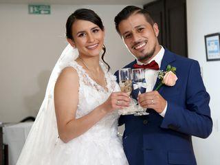 El matrimonio de Laura y César