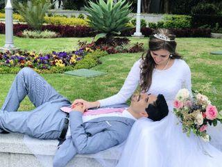 El matrimonio de Anghella y Iaad