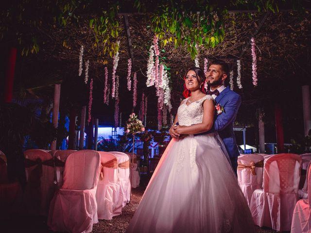 El matrimonio de Alejandra y Marcio