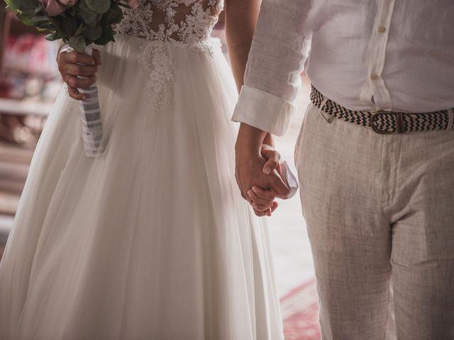 El matrimonio de Sebastián y Adriana en Palestina, Caldas 2