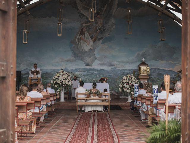 El matrimonio de Sebastián y Adriana en Palestina, Caldas 3