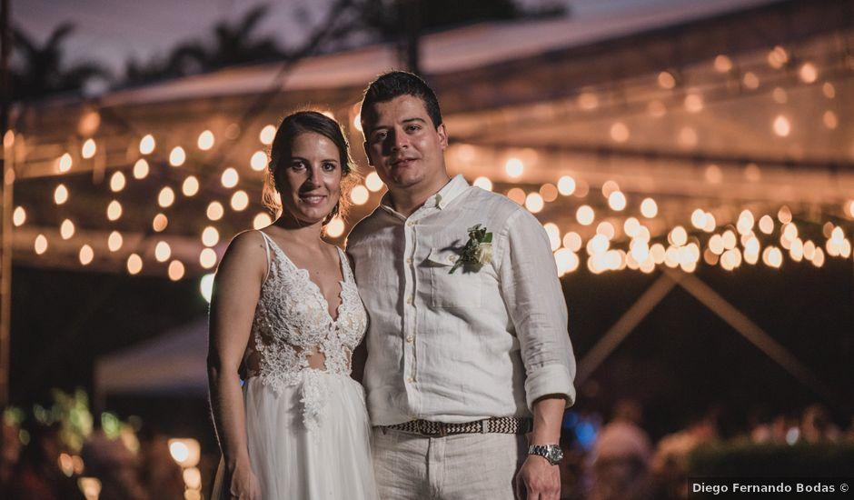 El matrimonio de Sebastián y Adriana en Palestina, Caldas