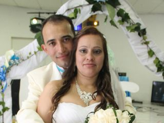 El matrimonio de Nanita y Ney