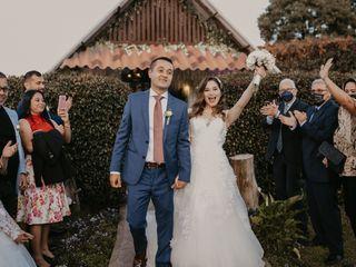 El matrimonio de Cindy y Elias
