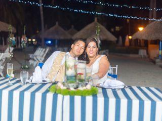 El matrimonio de Andrea y Sneyder