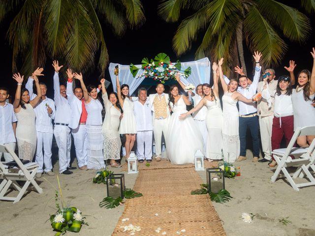El matrimonio de Sneyder  y Andrea en Santa Marta, Magdalena 50