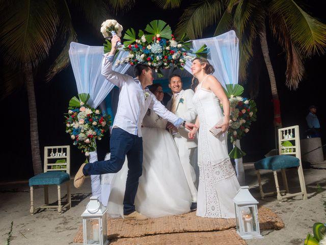 El matrimonio de Sneyder  y Andrea en Santa Marta, Magdalena 55