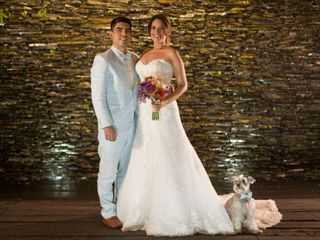 El matrimonio de Rosi y Dago