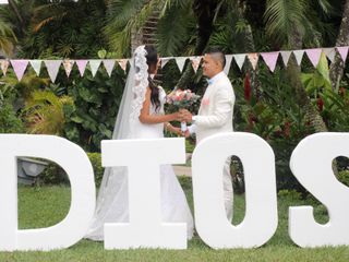 El matrimonio de Mónica  y Erik   1