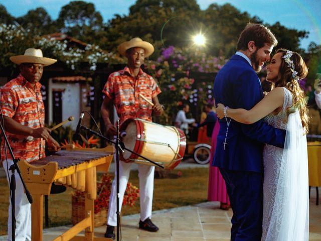 El matrimonio de Bruno  y Milena