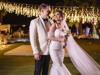 El matrimonio de Nikkita y Sandy