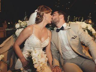 El matrimonio de Yalena y Andres