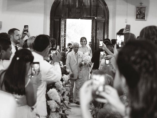 El matrimonio de Andres y Yalena en Cartagena, Bolívar 21