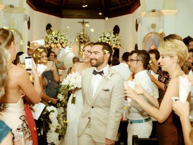 El matrimonio de Andres y Yalena en Cartagena, Bolívar 26
