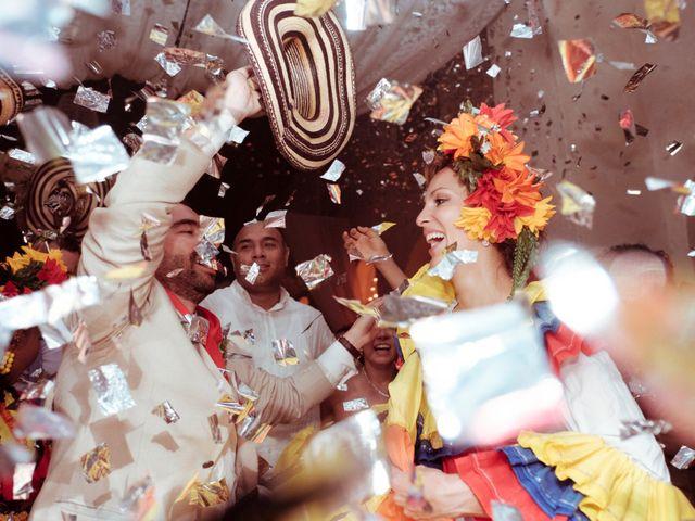 El matrimonio de Andres y Yalena en Cartagena, Bolívar 38