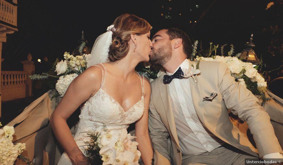 El matrimonio de Andres y Yalena en Cartagena, Bolívar