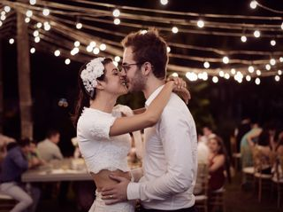 El matrimonio de Lorena y Tibo