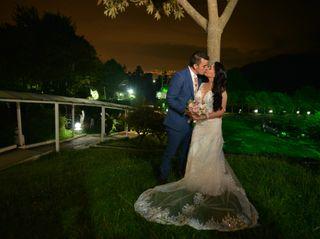 El matrimonio de Cristian y Andrea