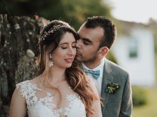 El matrimonio de Laura  y Elkin  1
